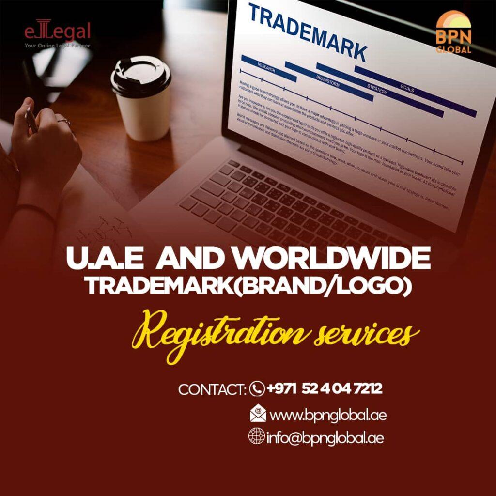 UAE and worldwide trademark (brand/logo) registration