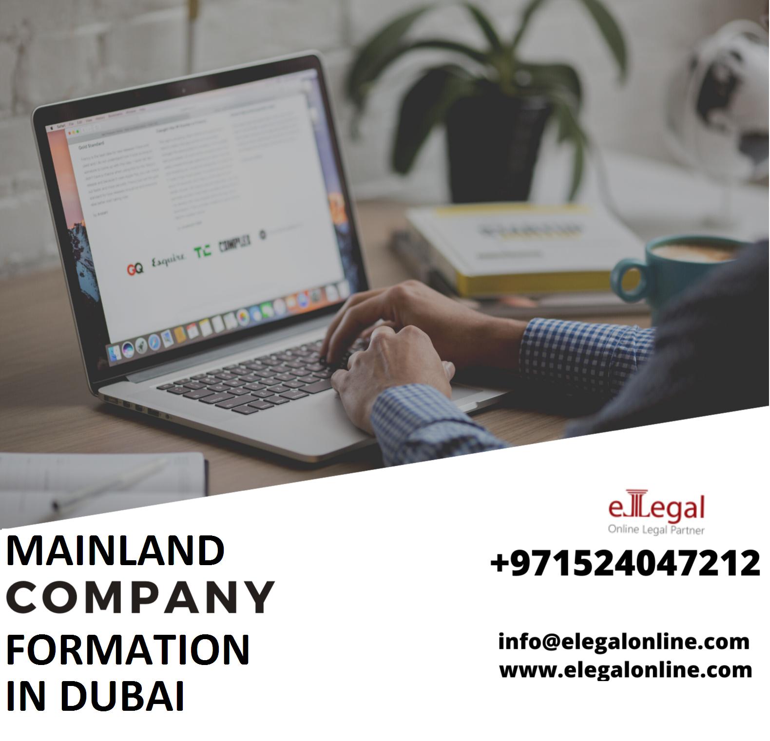 Mainland Company Formation In Dubai UAE